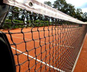 Tennis baan buiten